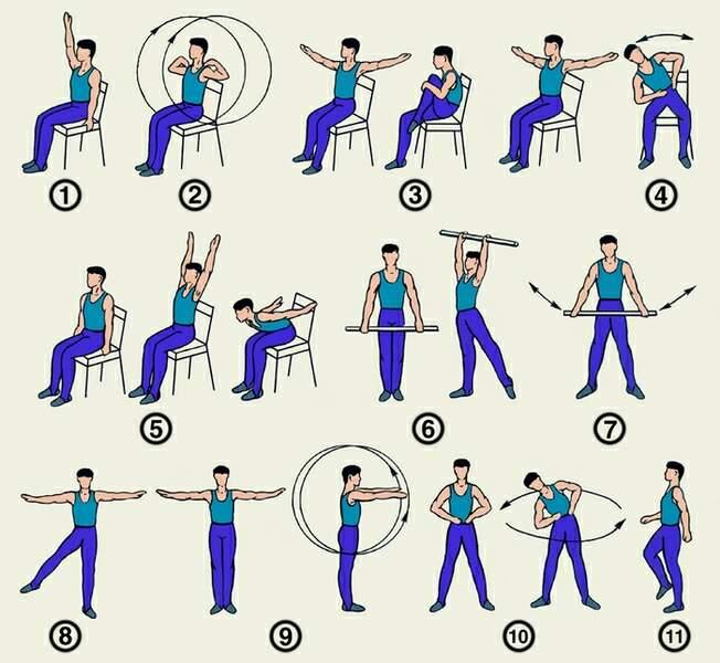 физ упражнения при остеохондрозе поясничного отдела